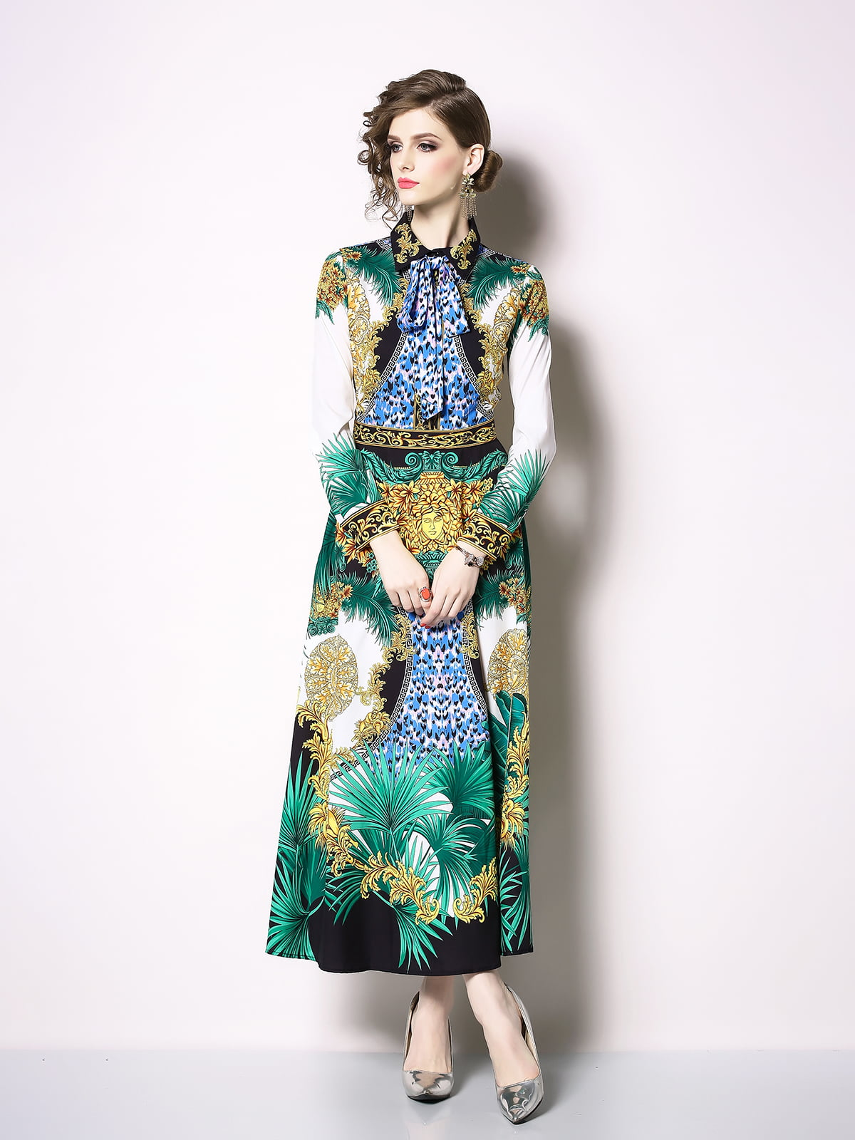 Платье в принт | 5209441