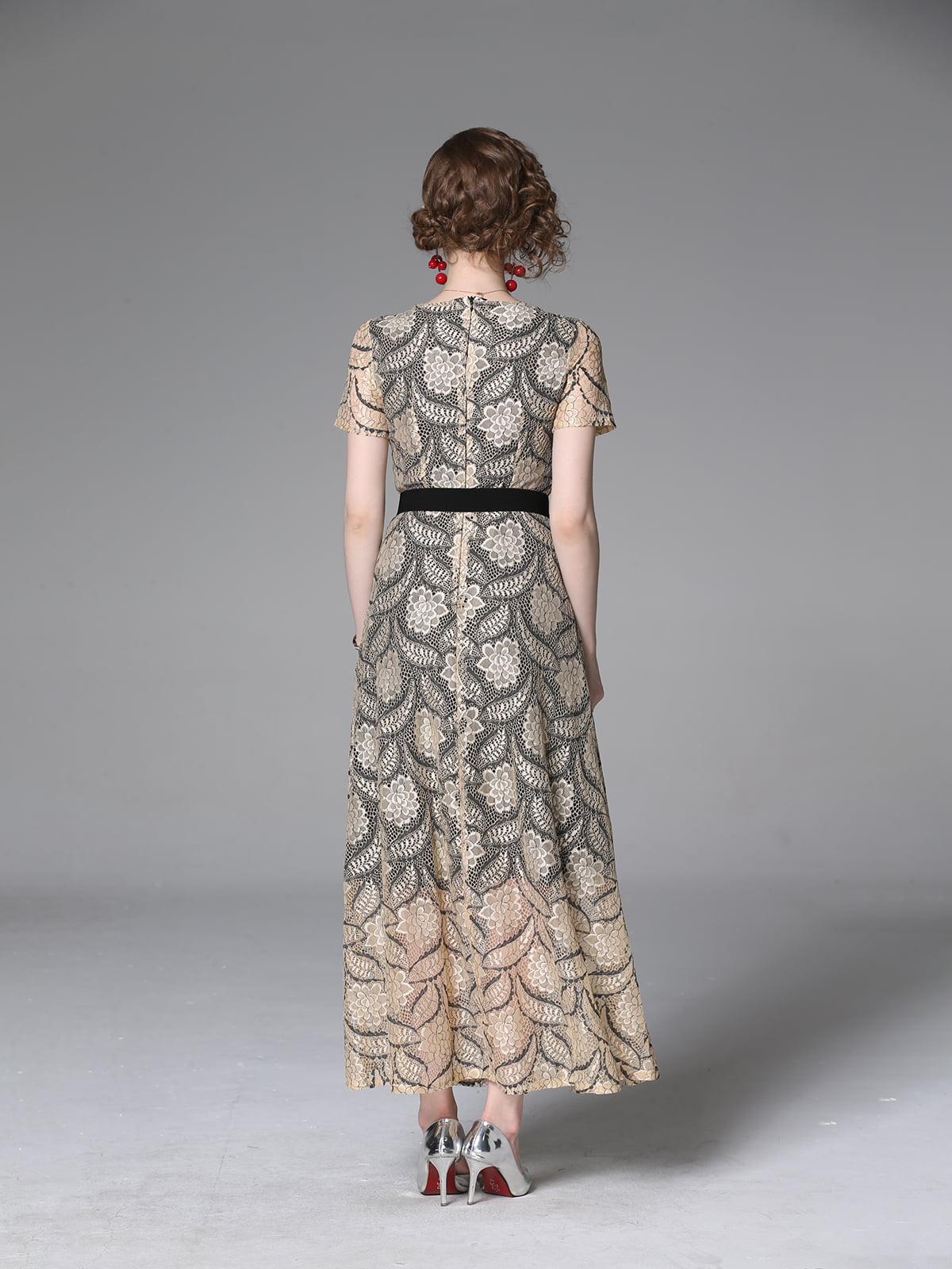 Платье бежевое | 5209444