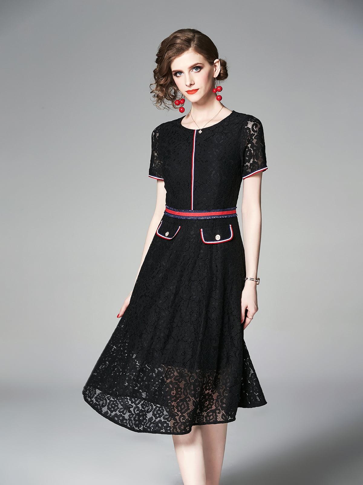 Платье черное | 5209446