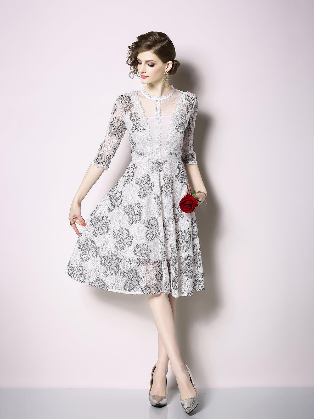 Платье серое | 5209451