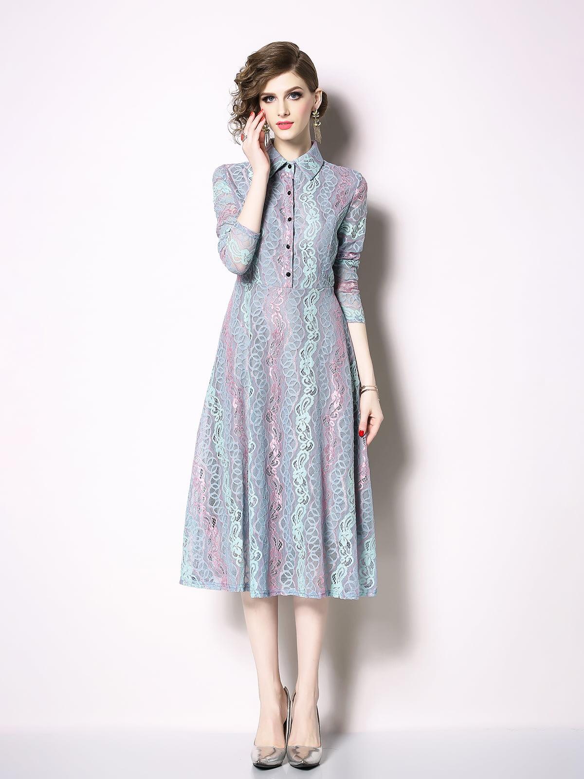 Платье серое | 5209453