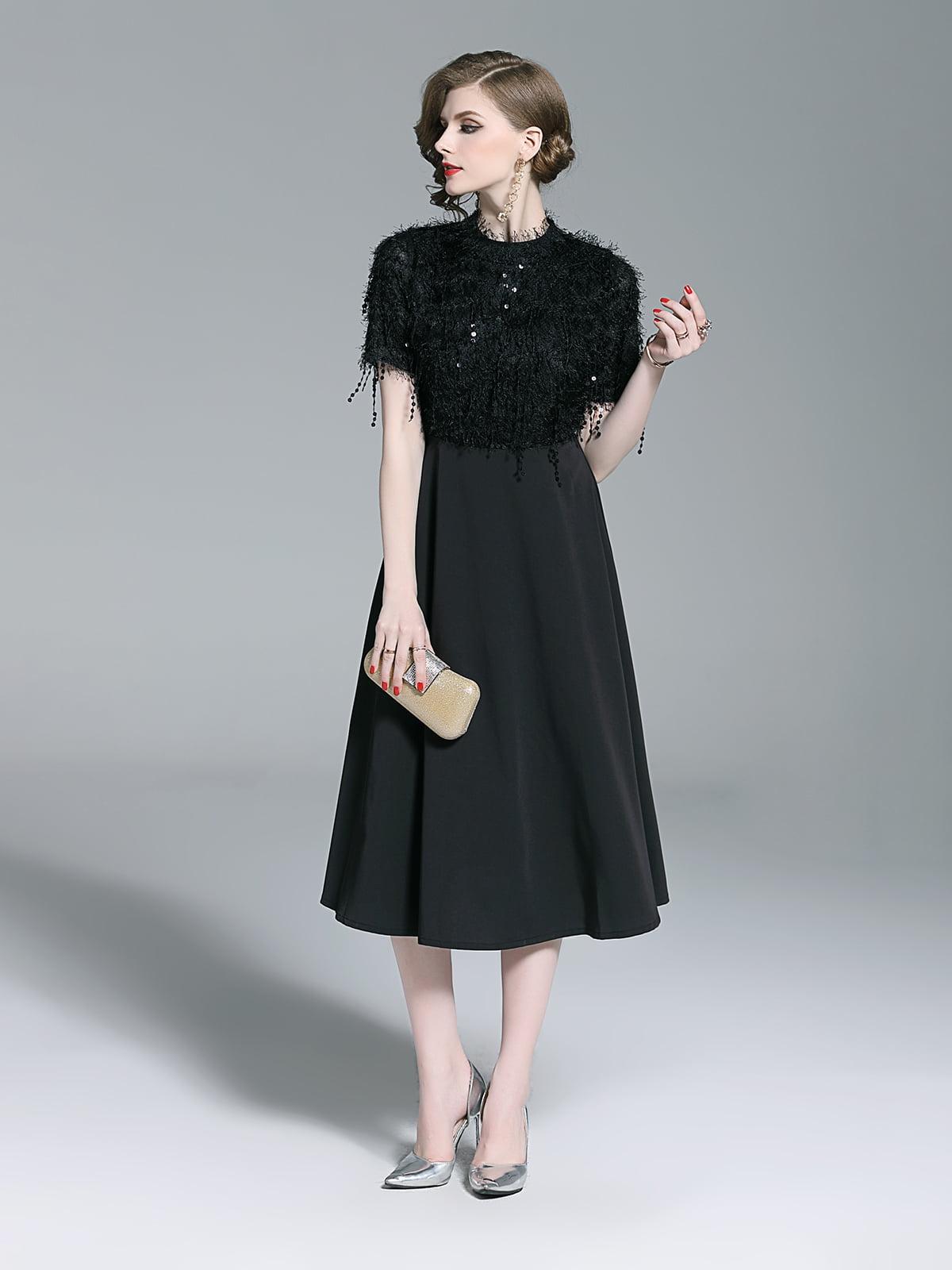 Платье черное | 5209463