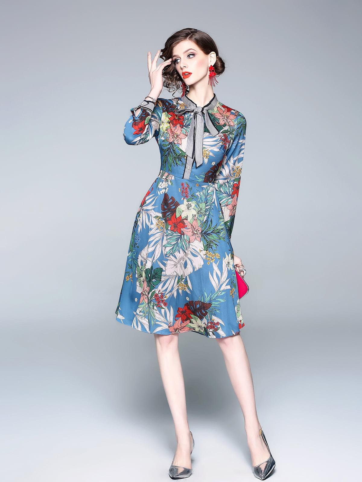 Платье в принт | 5209469