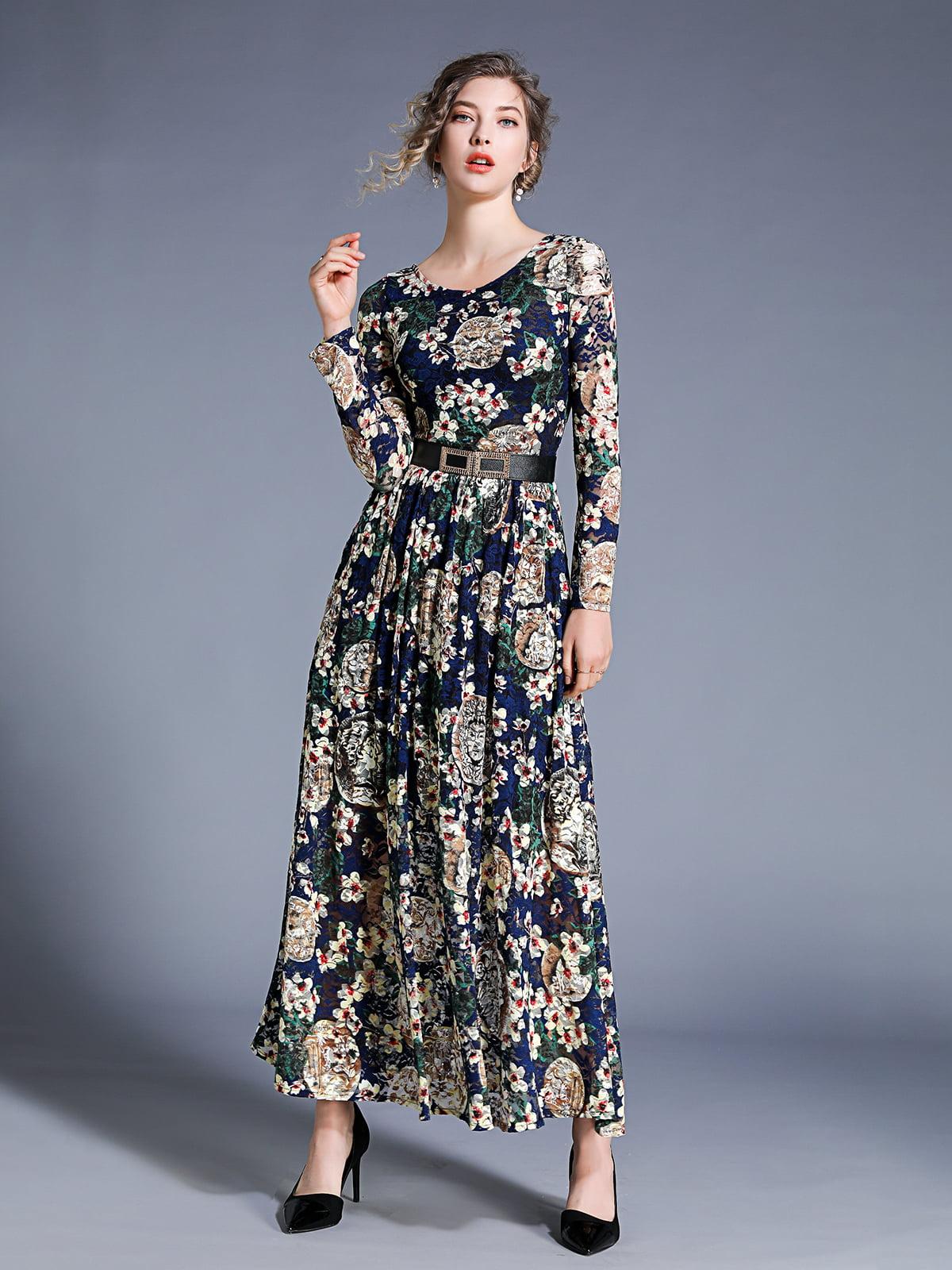 Платье в принт   5209470