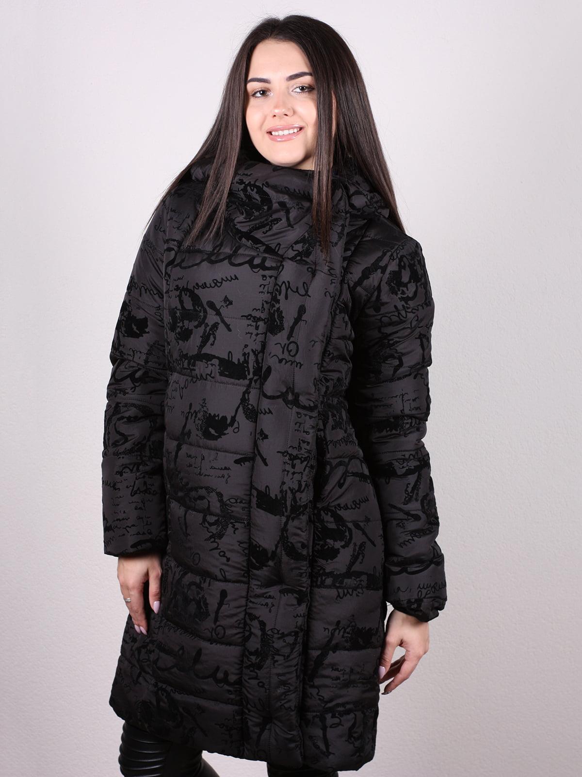 Пальто черное | 5204976