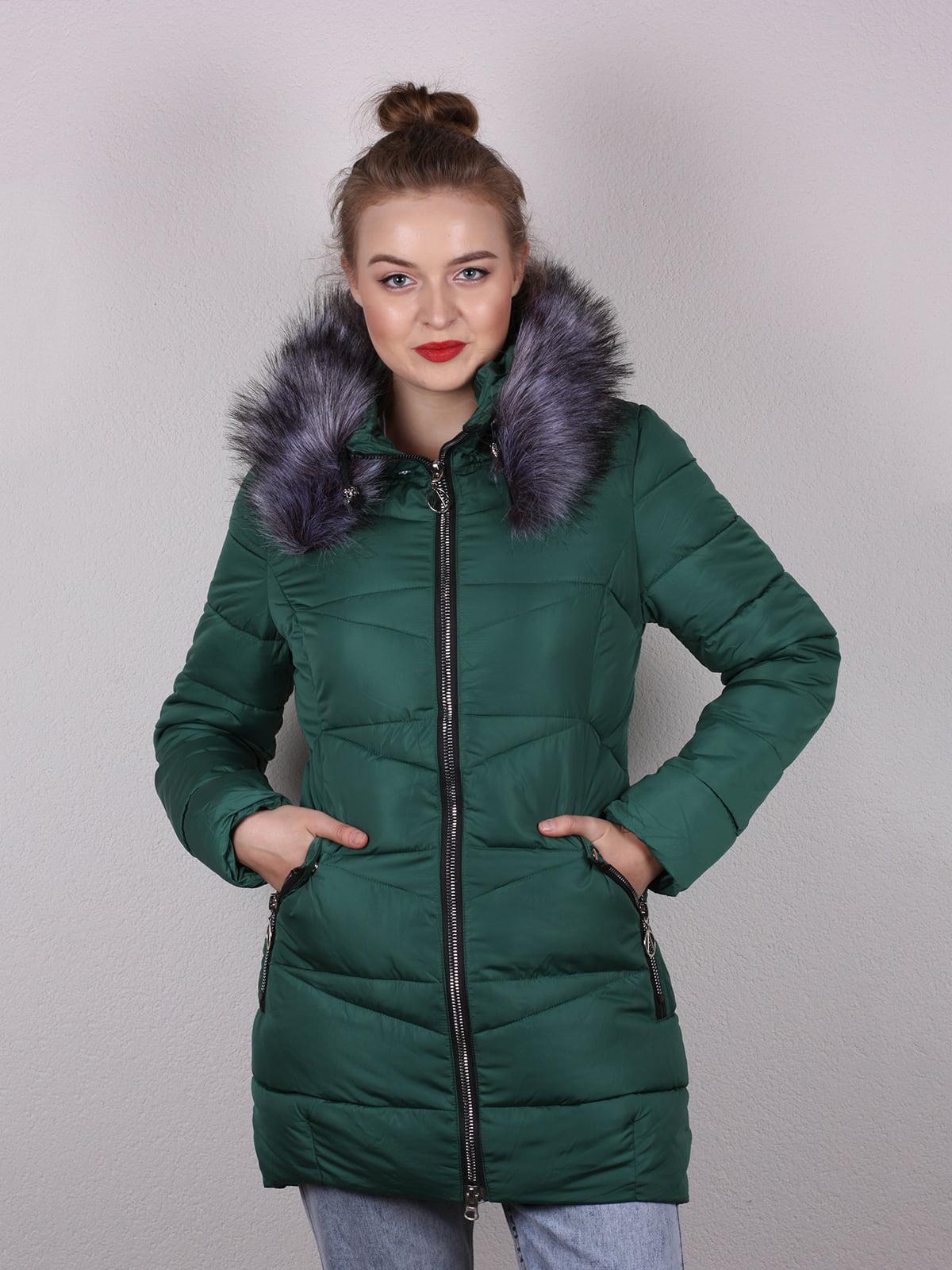 Пальто изумрудного цвета   5204988