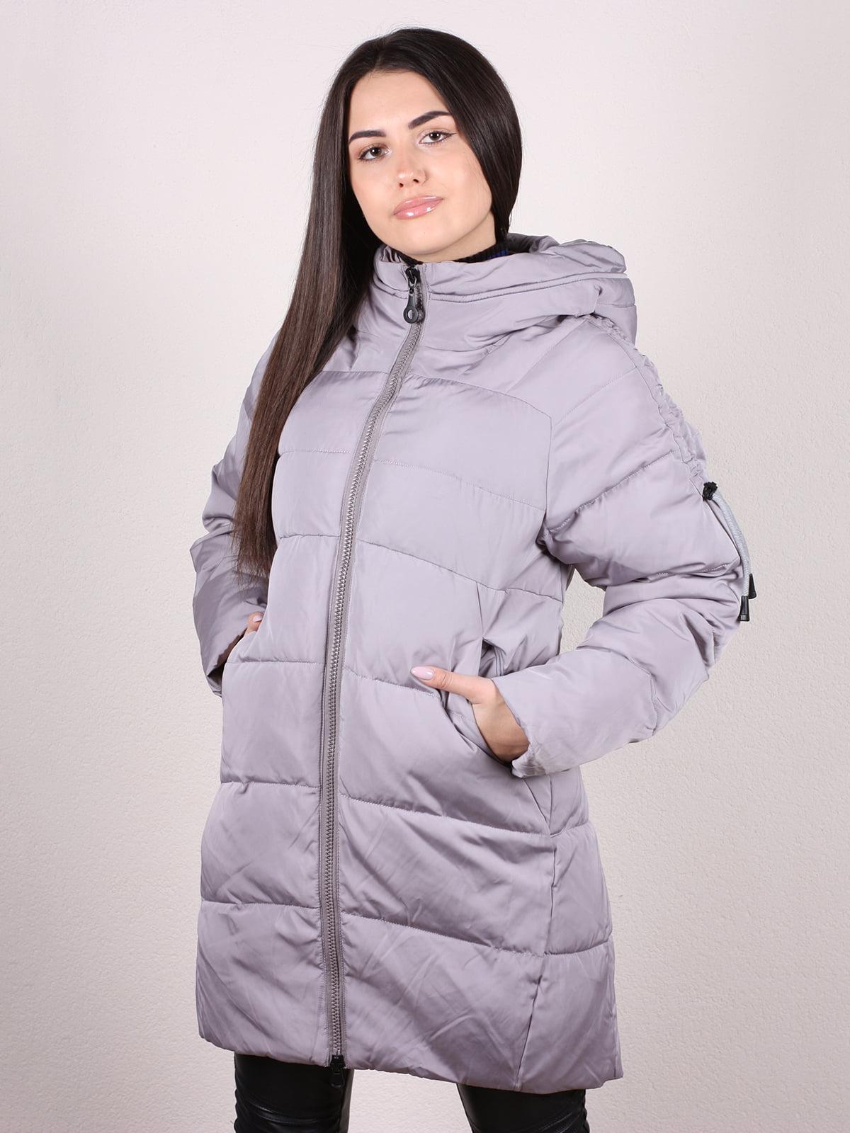 Куртка серая | 5205004