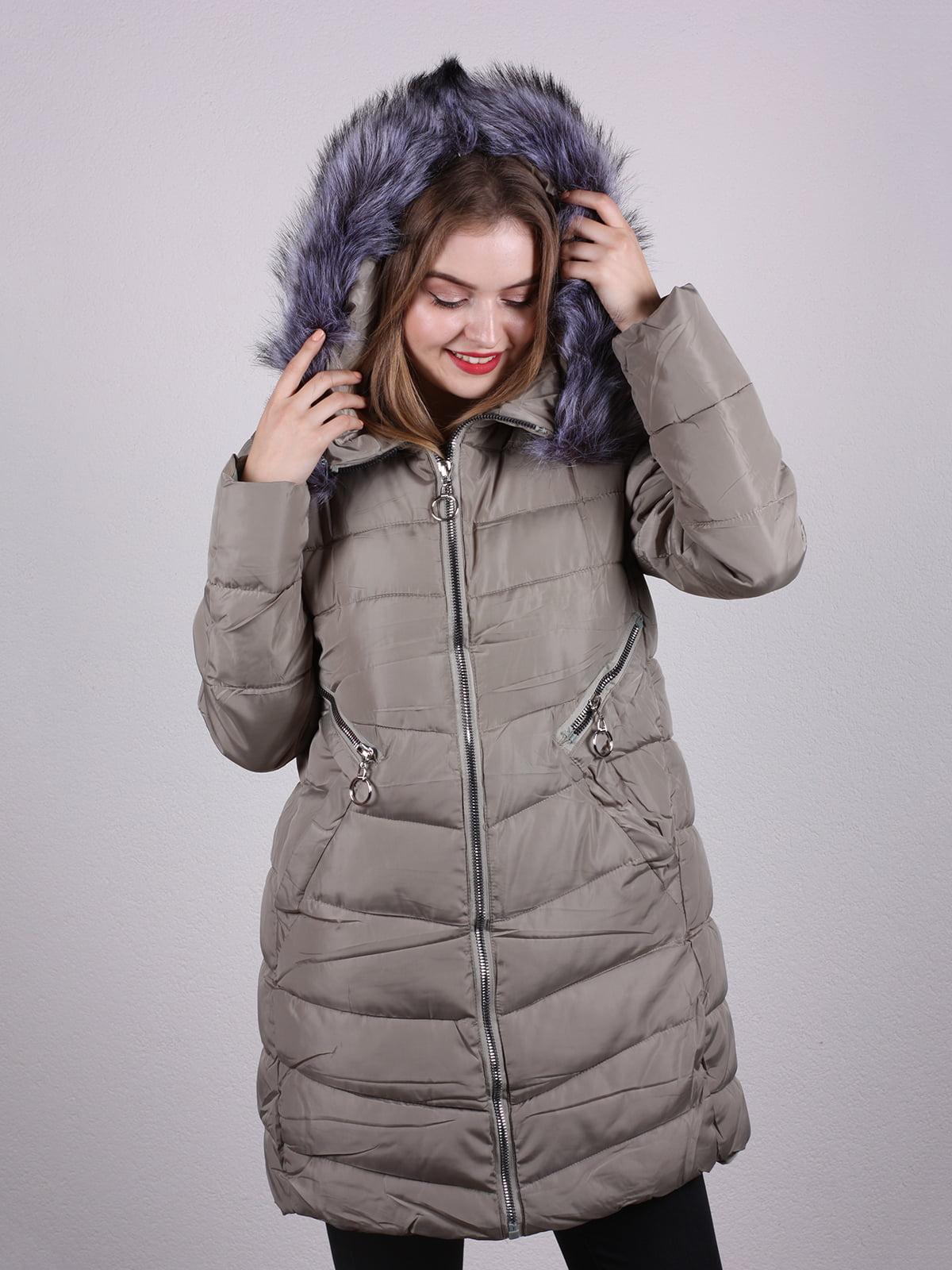 Пальто оливкового цвета | 5205068