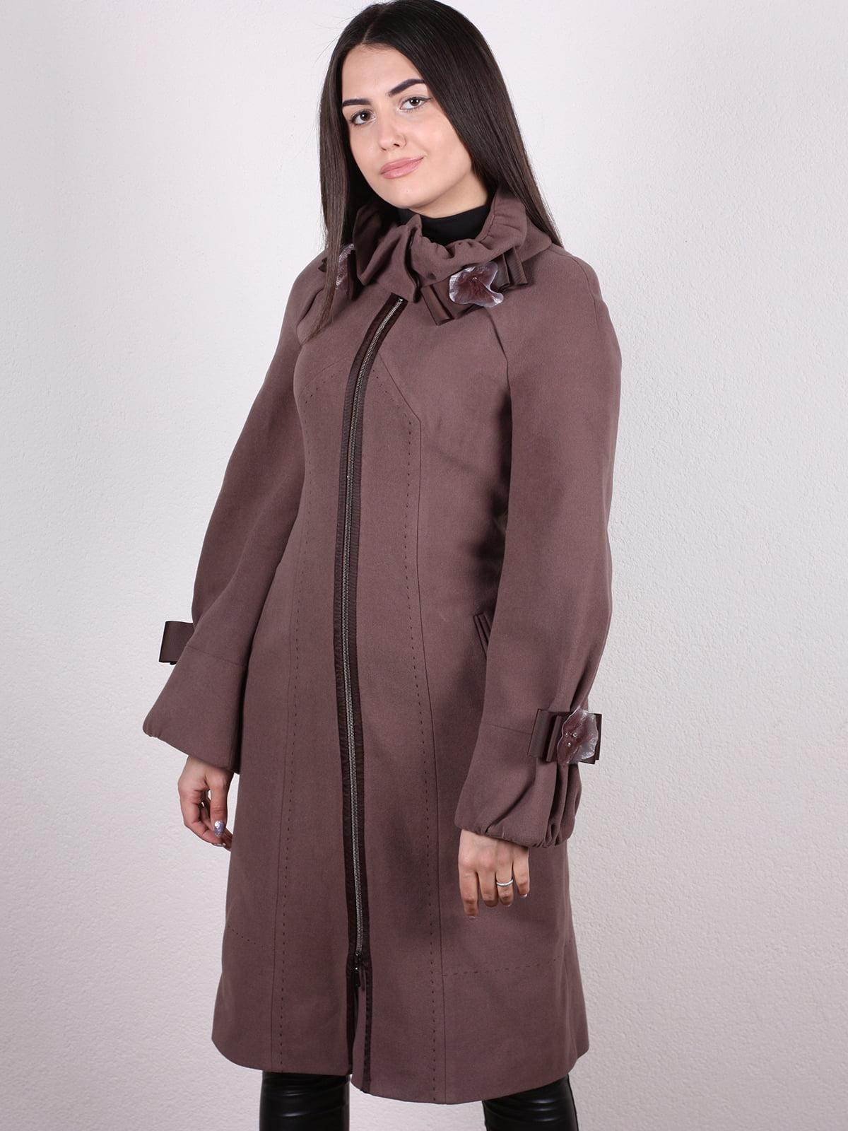 Пальто коричневое | 5205146