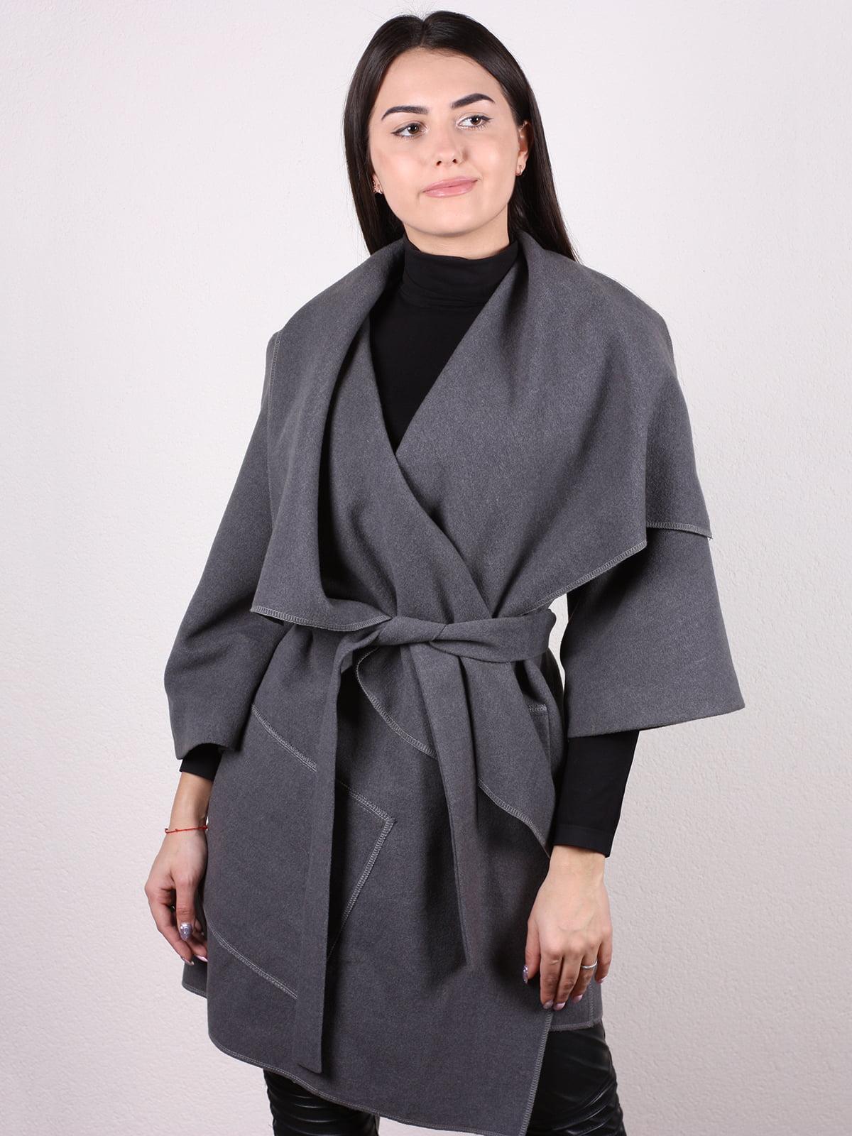 Пальто серое | 5205152