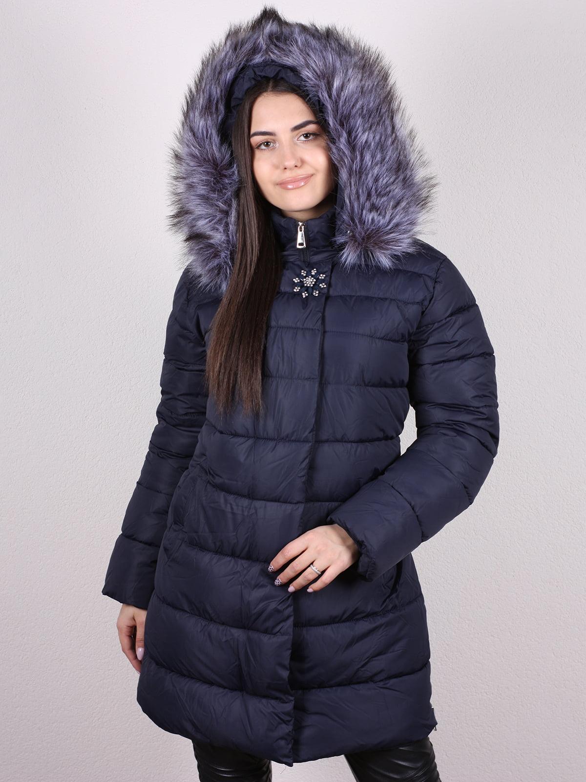 Куртка темно-синяя   5205186
