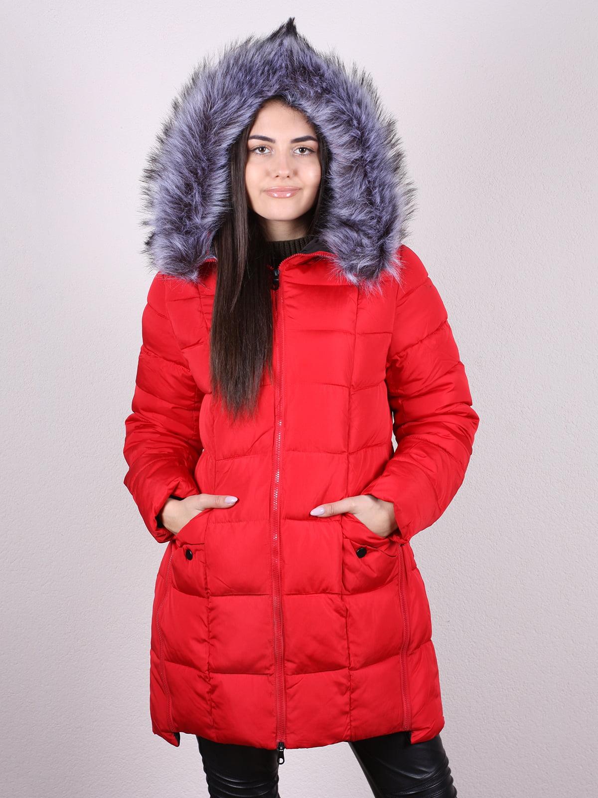 Пальто красное | 5205188