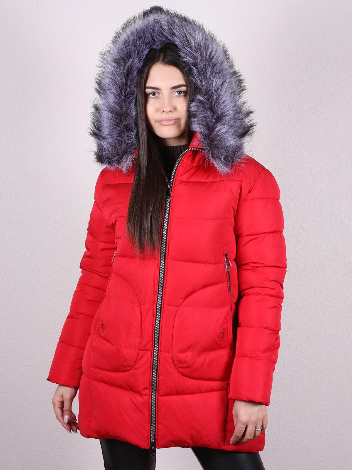 Пальто красное | 5205192