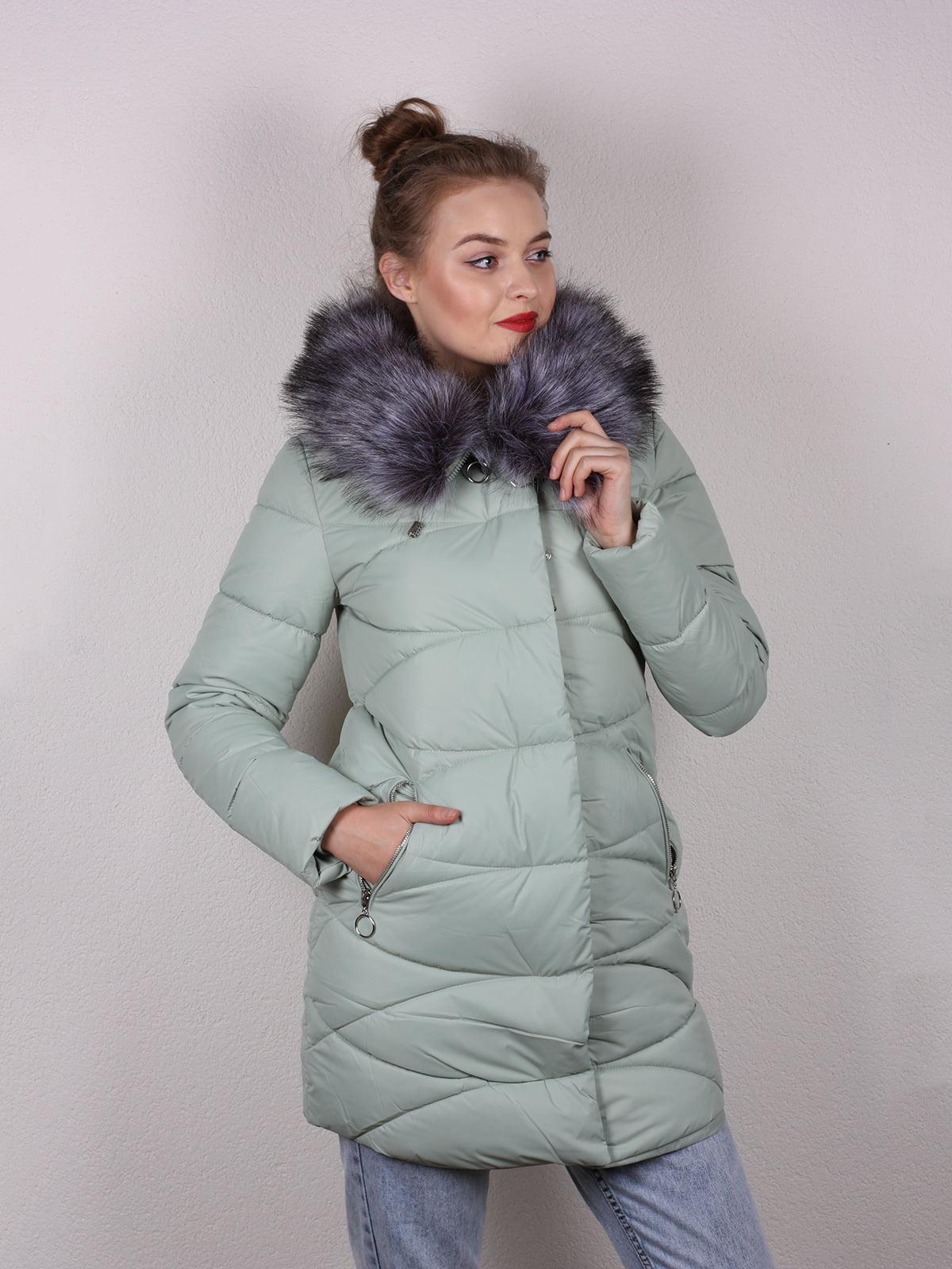 Пальто мятного цвета | 5205205
