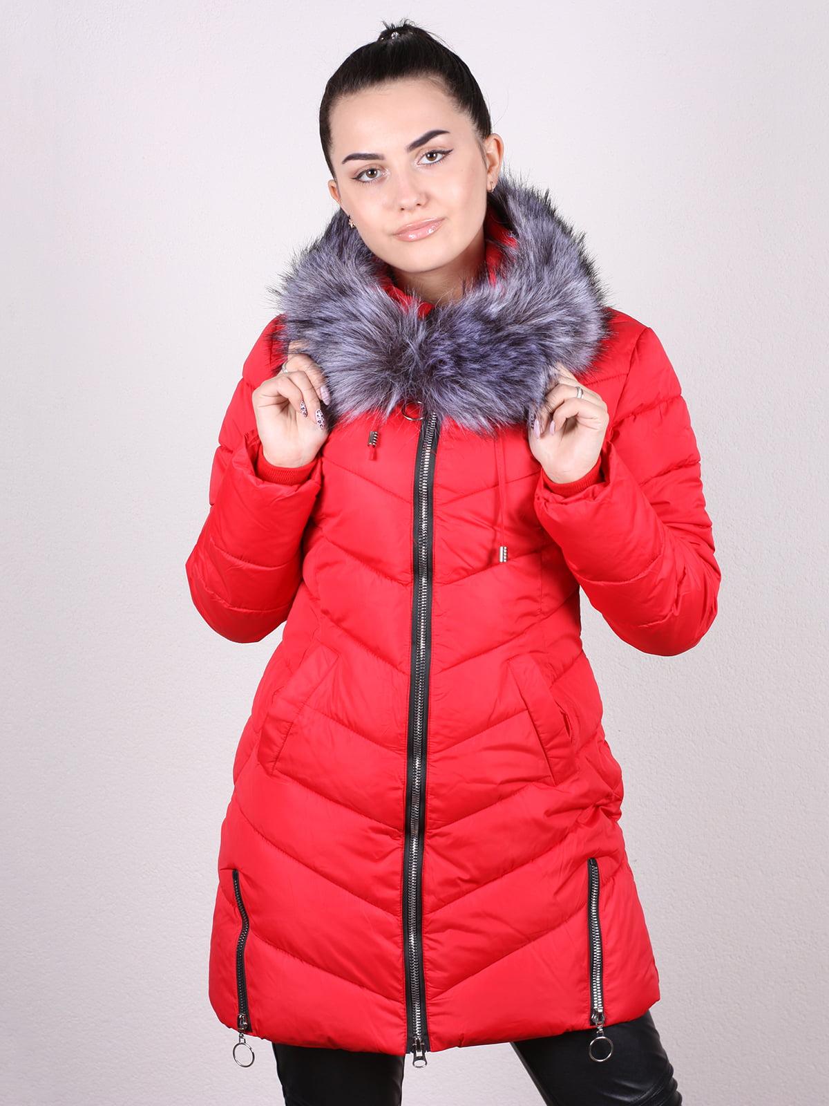 Куртка красная   5205214