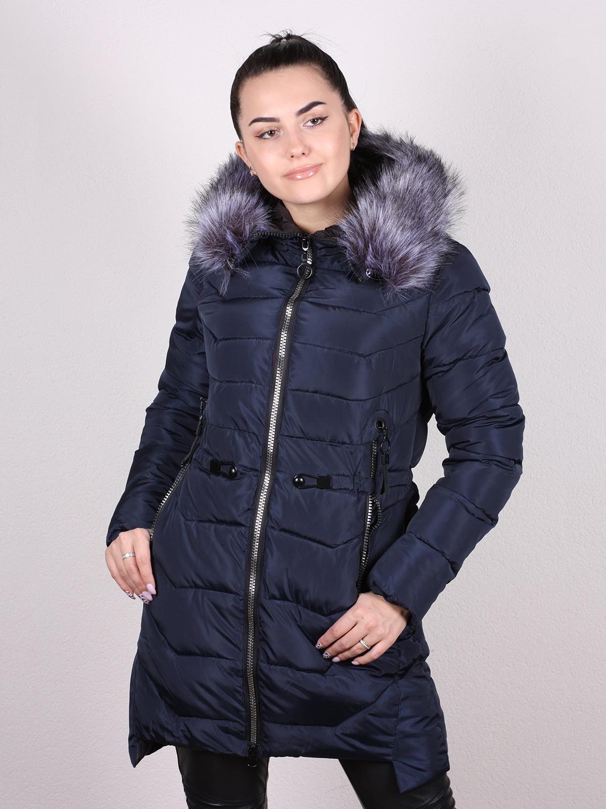 Куртка темно-синяя | 5205215