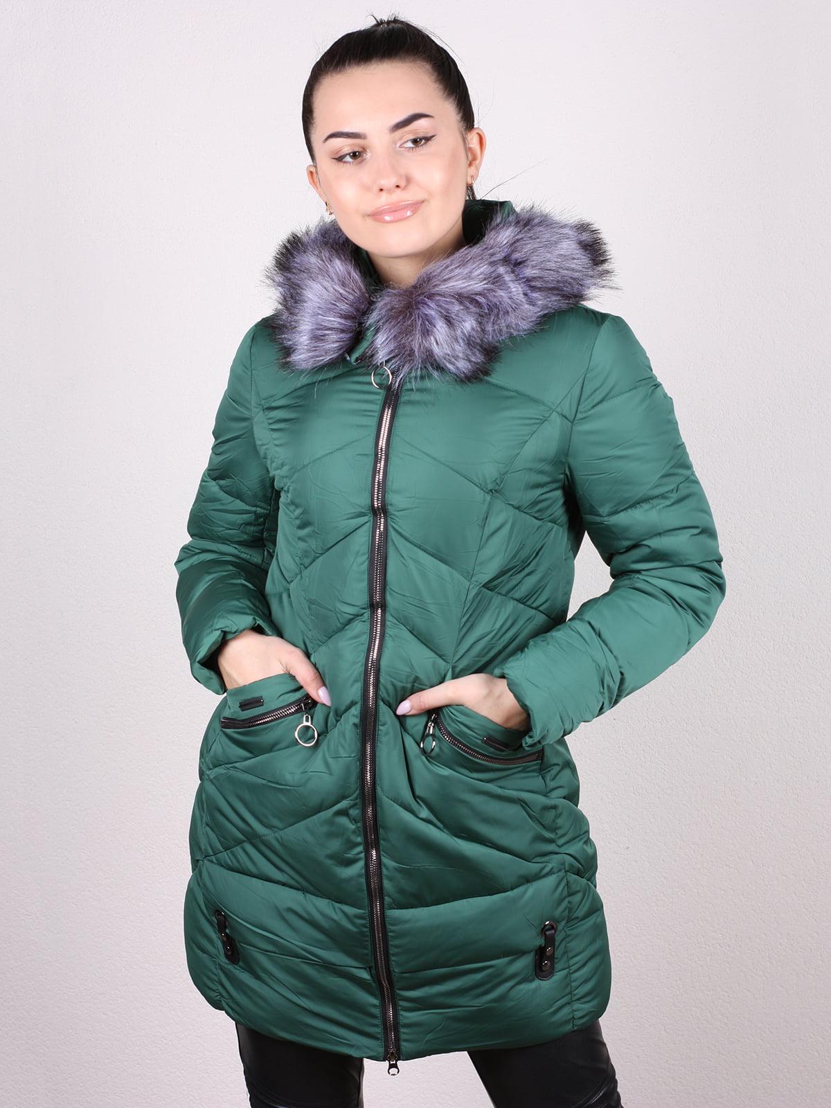 Пальто изумрудного цвета | 5205218