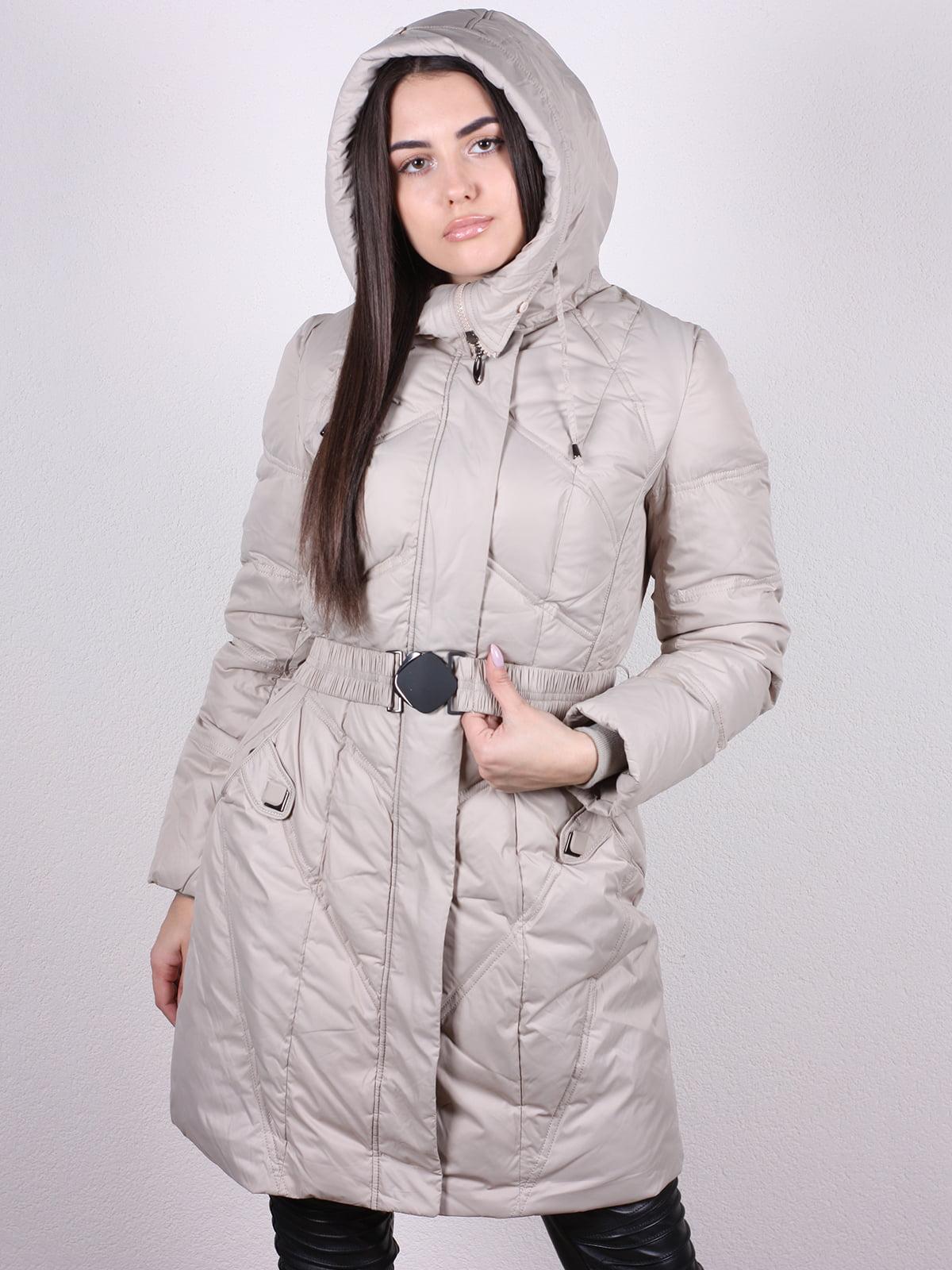Пальто бежевое   5205228
