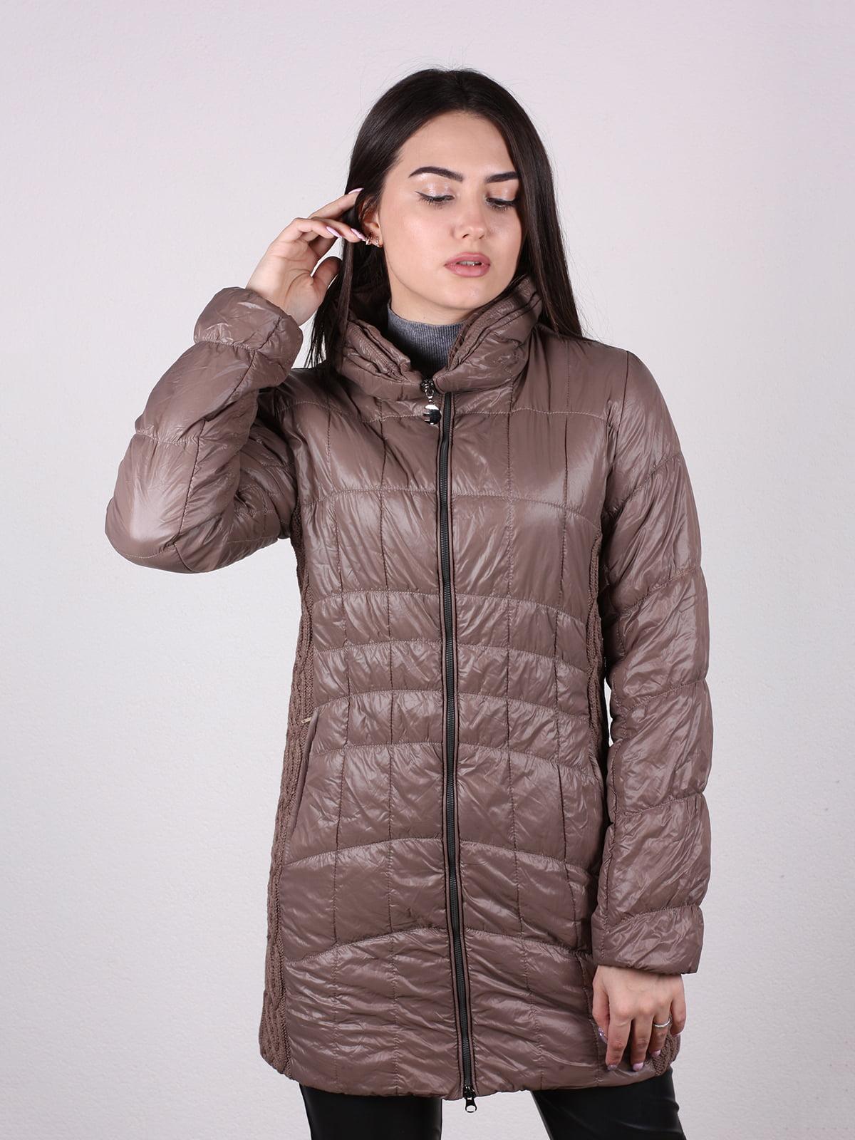 Куртка коричневая | 5205240