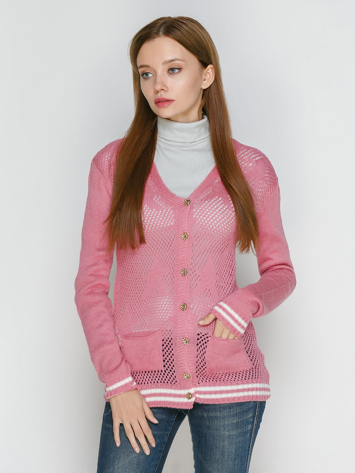 Кофта розовая   5204286