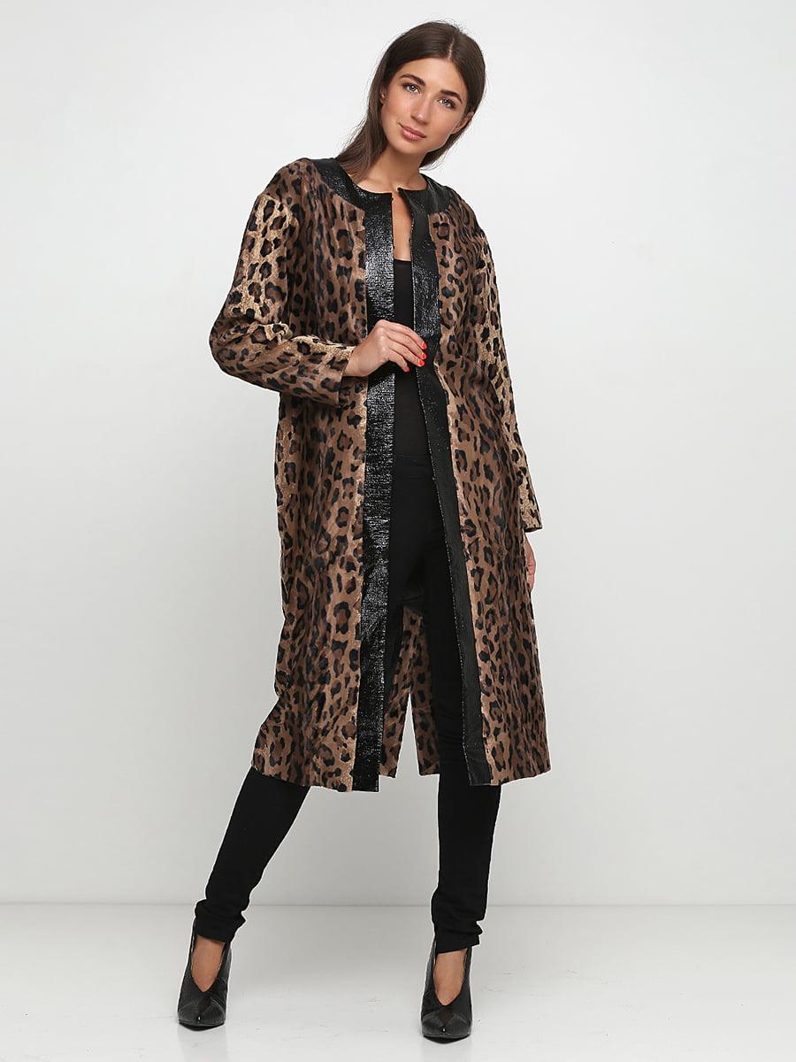 Пальто в анімалістичний принт | 5210445