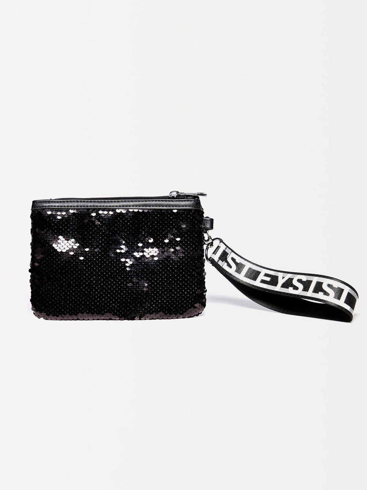 Клатч черный декорированный   5165112