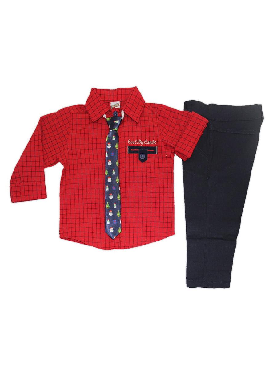 Костюм: штани, сорочка і краватка | 5211773