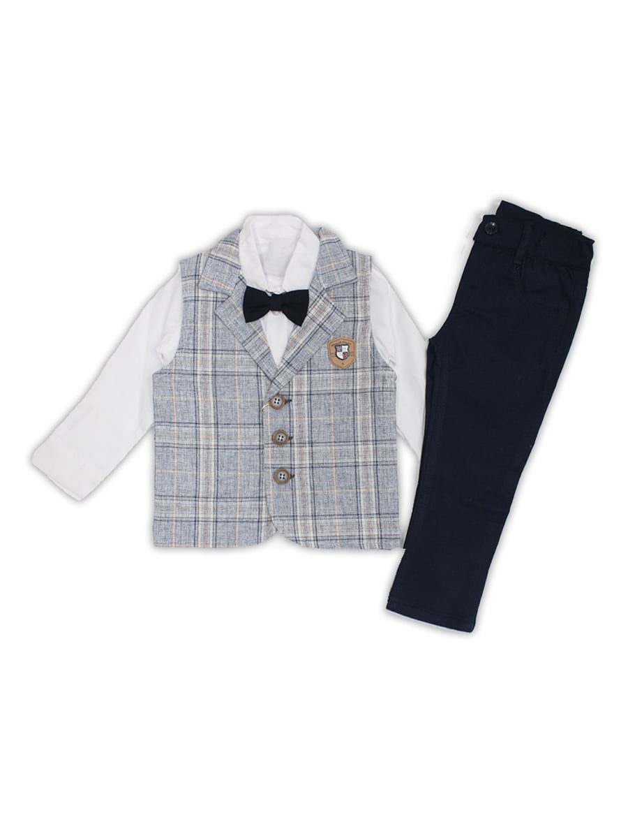 Костюм: штани, рубашка, жилет і галстук-бабочка | 5211774