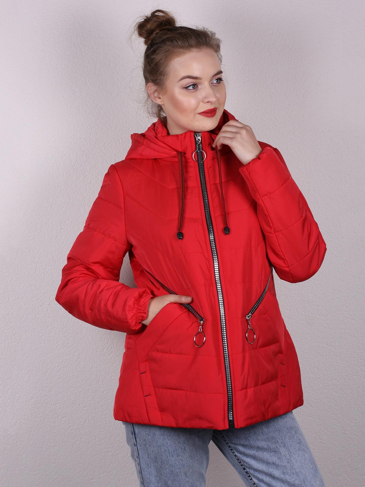 Куртка красная | 5204935