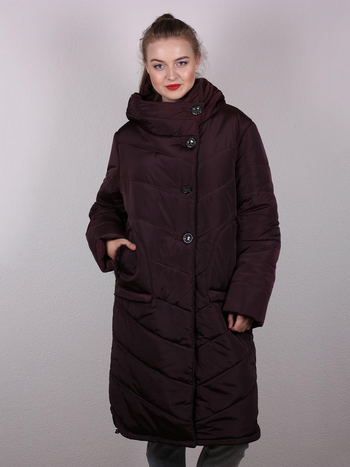 Пальто коричневое | 5204937