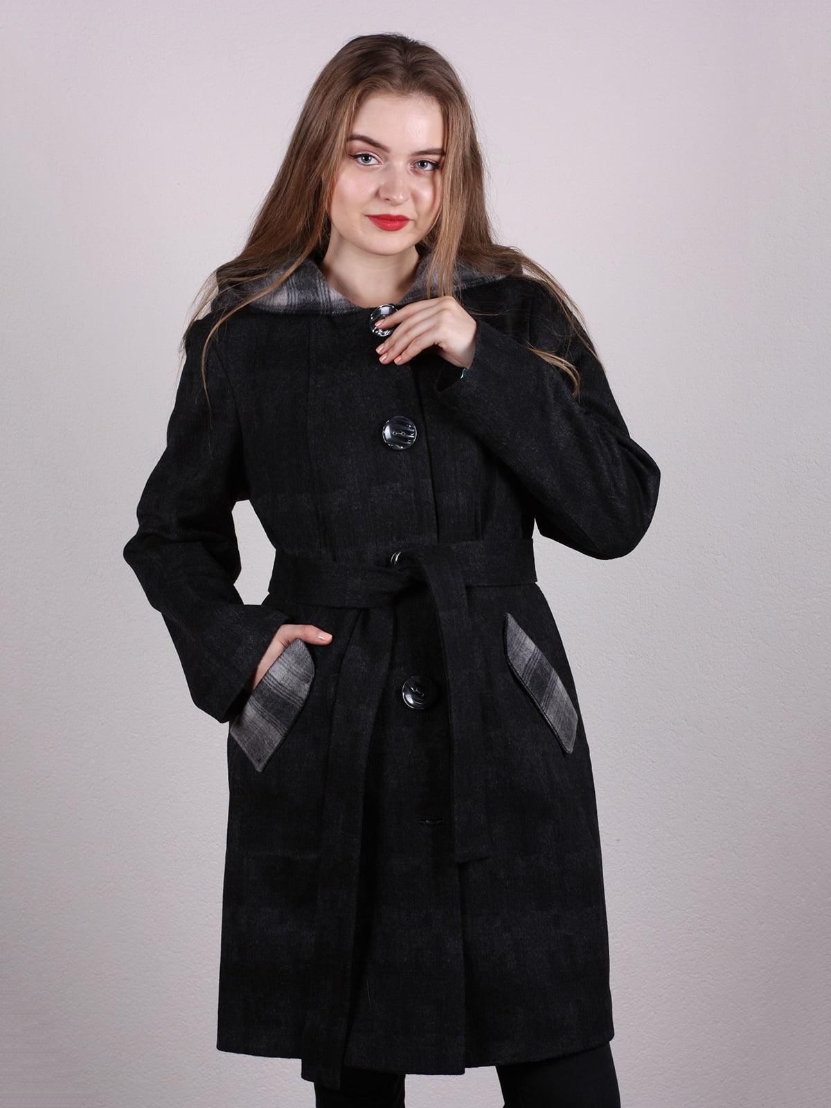 Пальто черное | 5205091