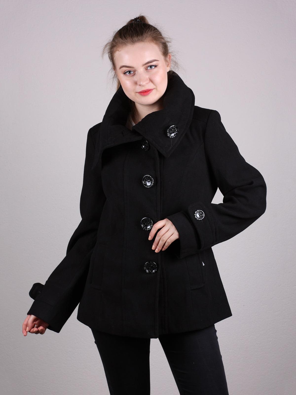 Пальто черное   5205100