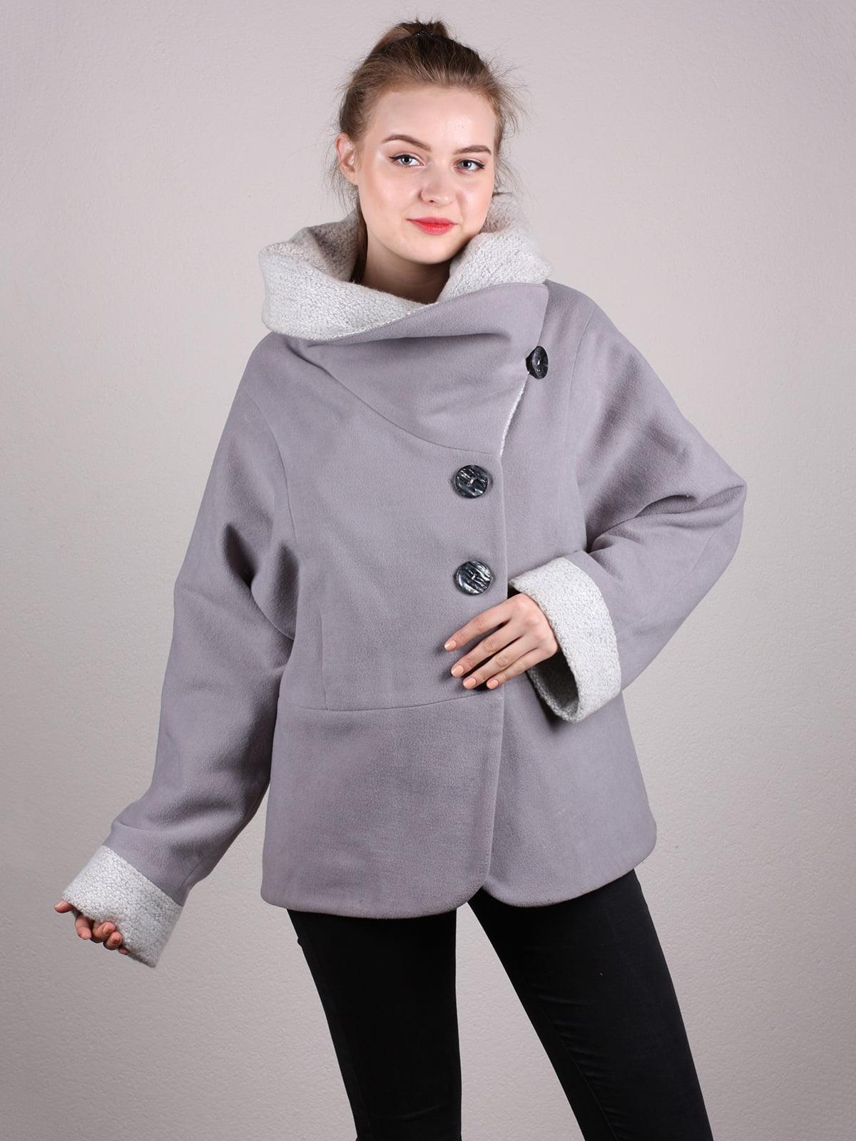 Пальто серое | 5205166