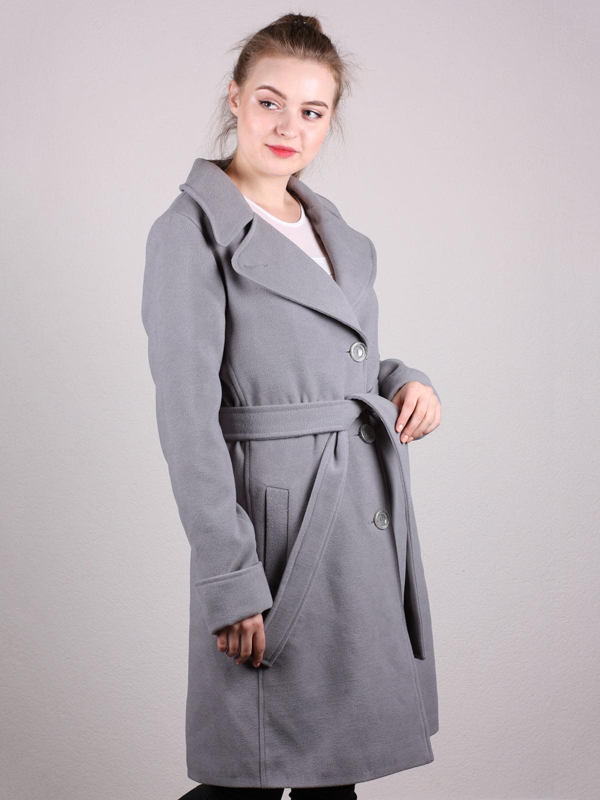 Пальто серое | 5205169