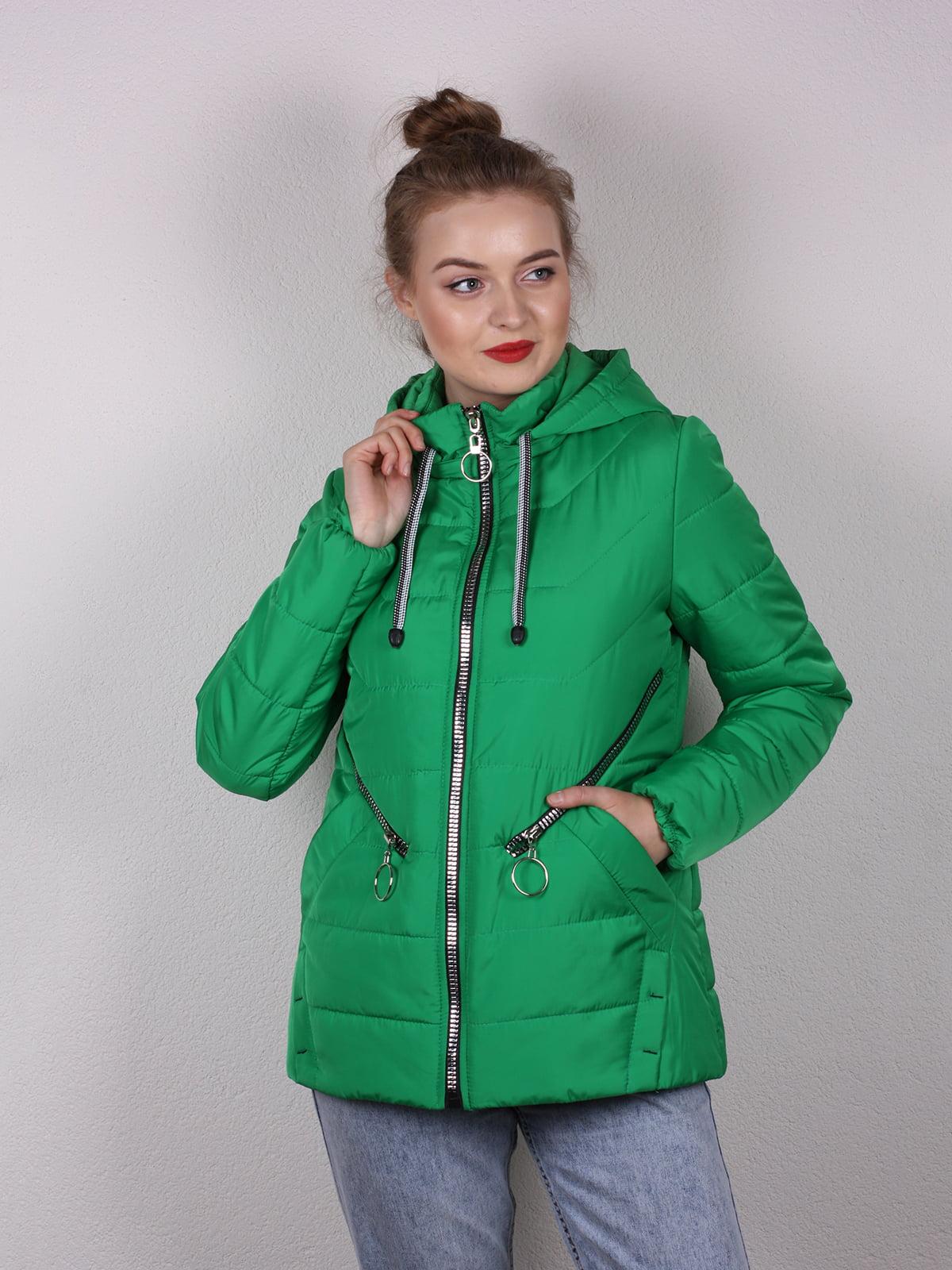 Куртка зеленая   5205170