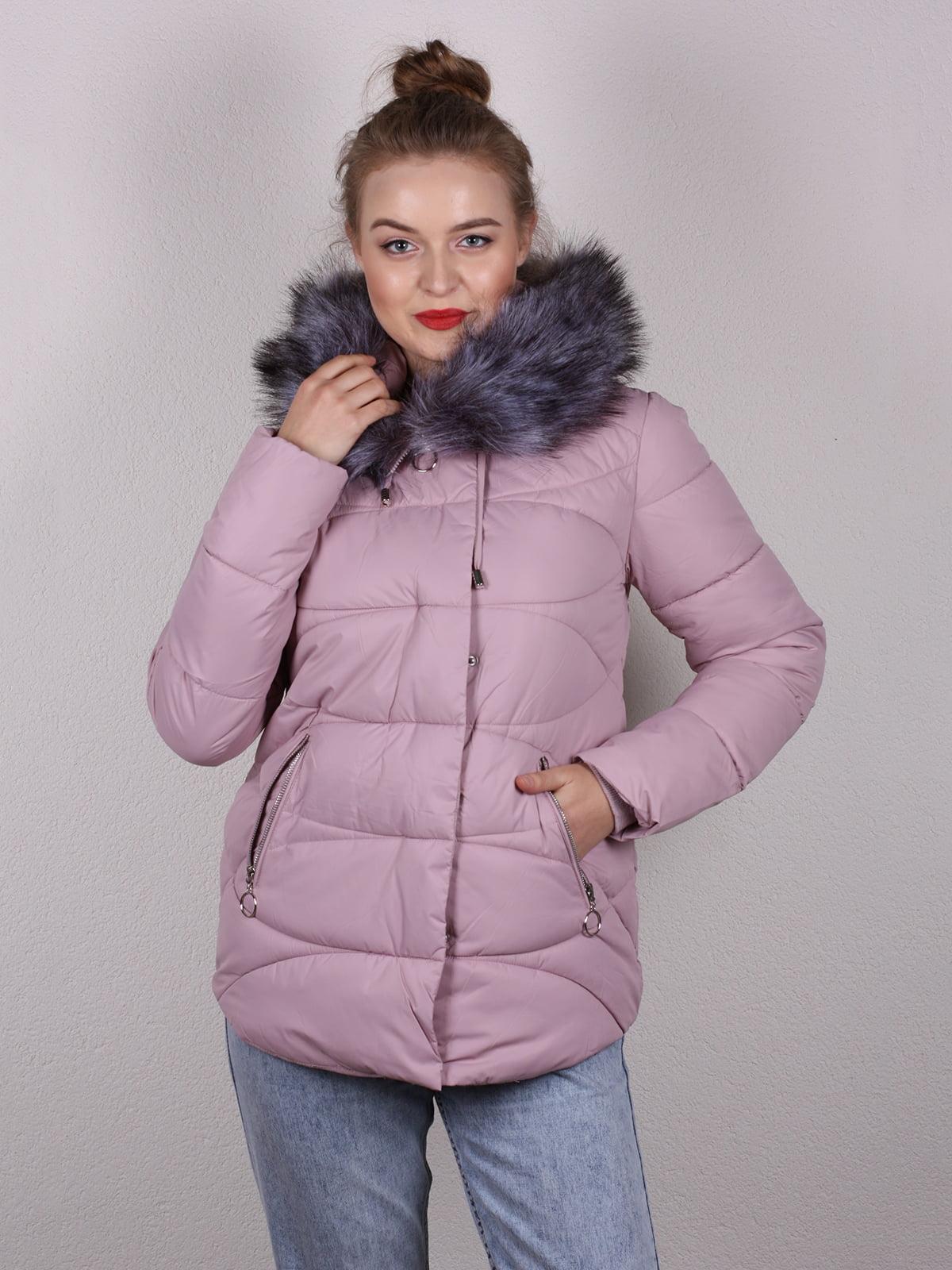 Куртка розовая | 5205203