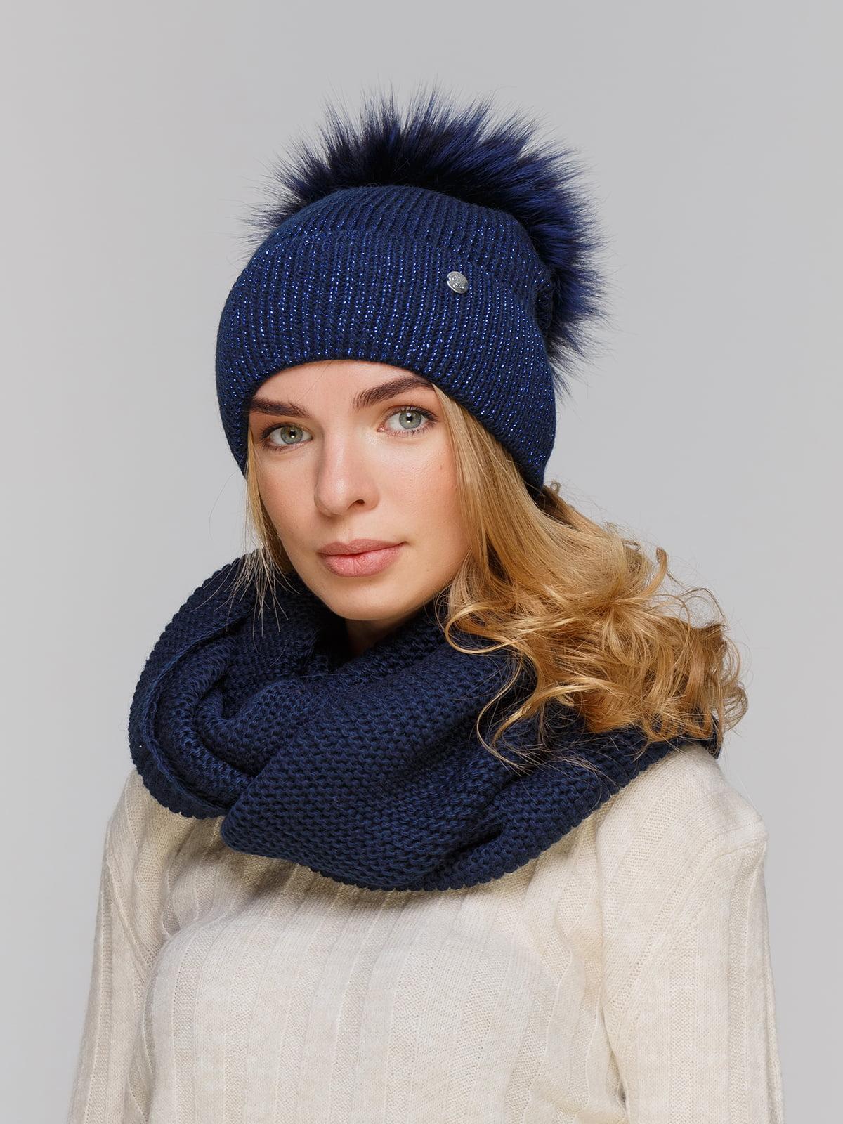 Комплект: шапка і шарф-снуд   5211273