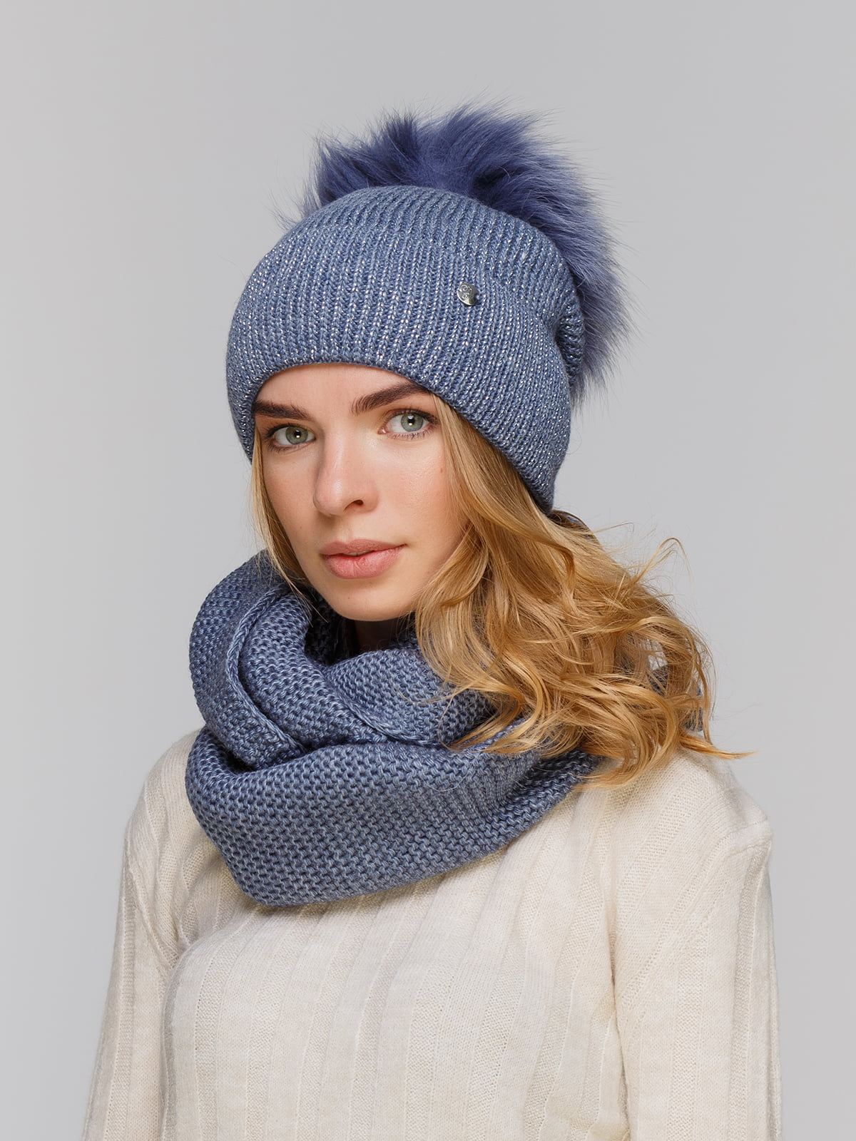 Комплект: шапка і шарф-снуд | 5211271