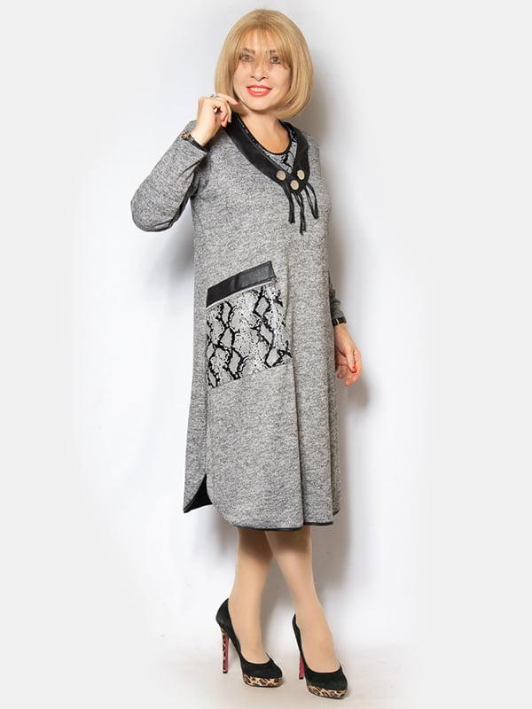 Платье серое | 5213132