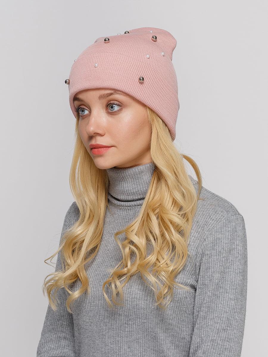Шапка рожева | 5210564