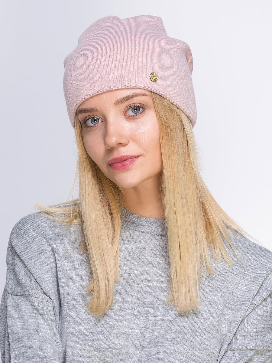 Шапка рожева | 5210628