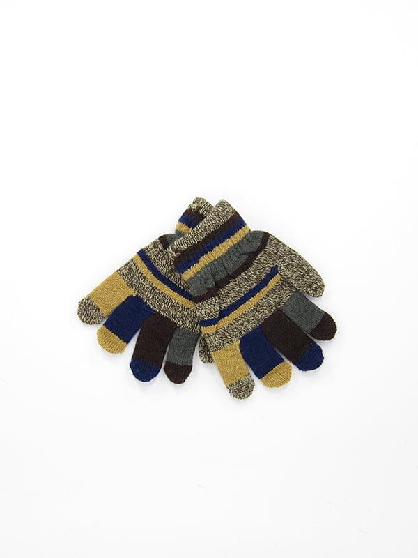 Перчатки коричневые   5210940