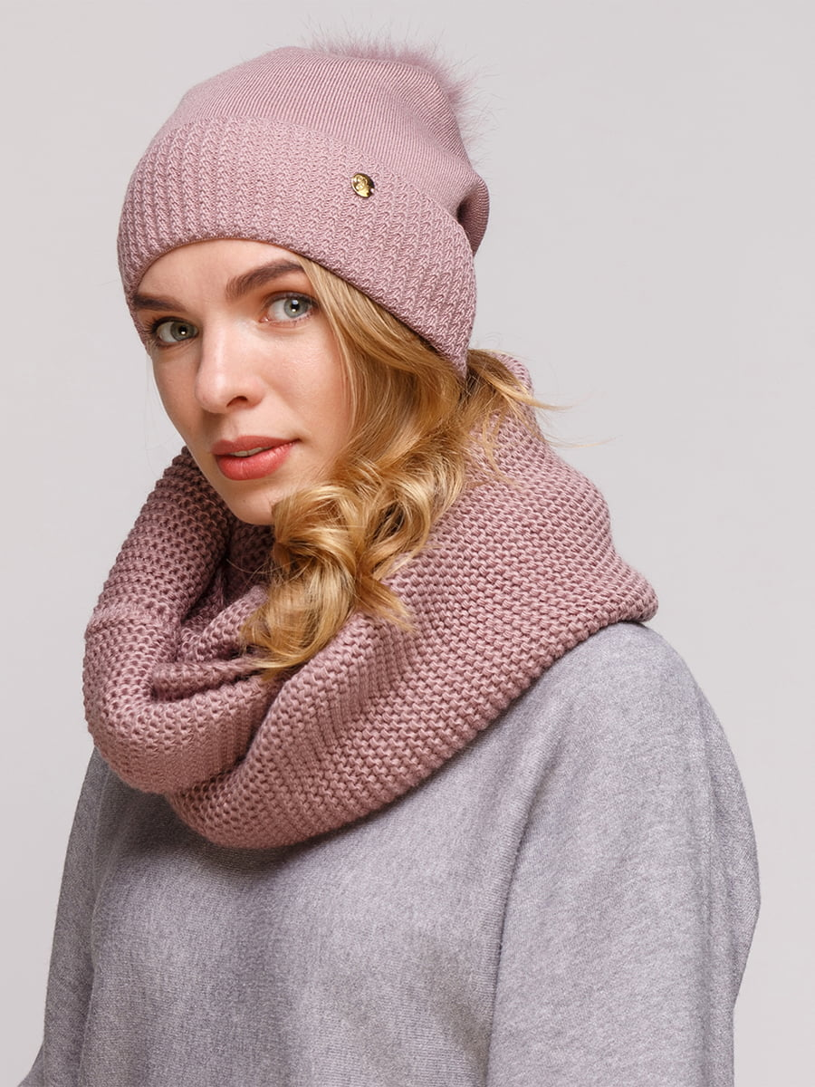 Комплект: шапка і шарф-снуд | 5210962