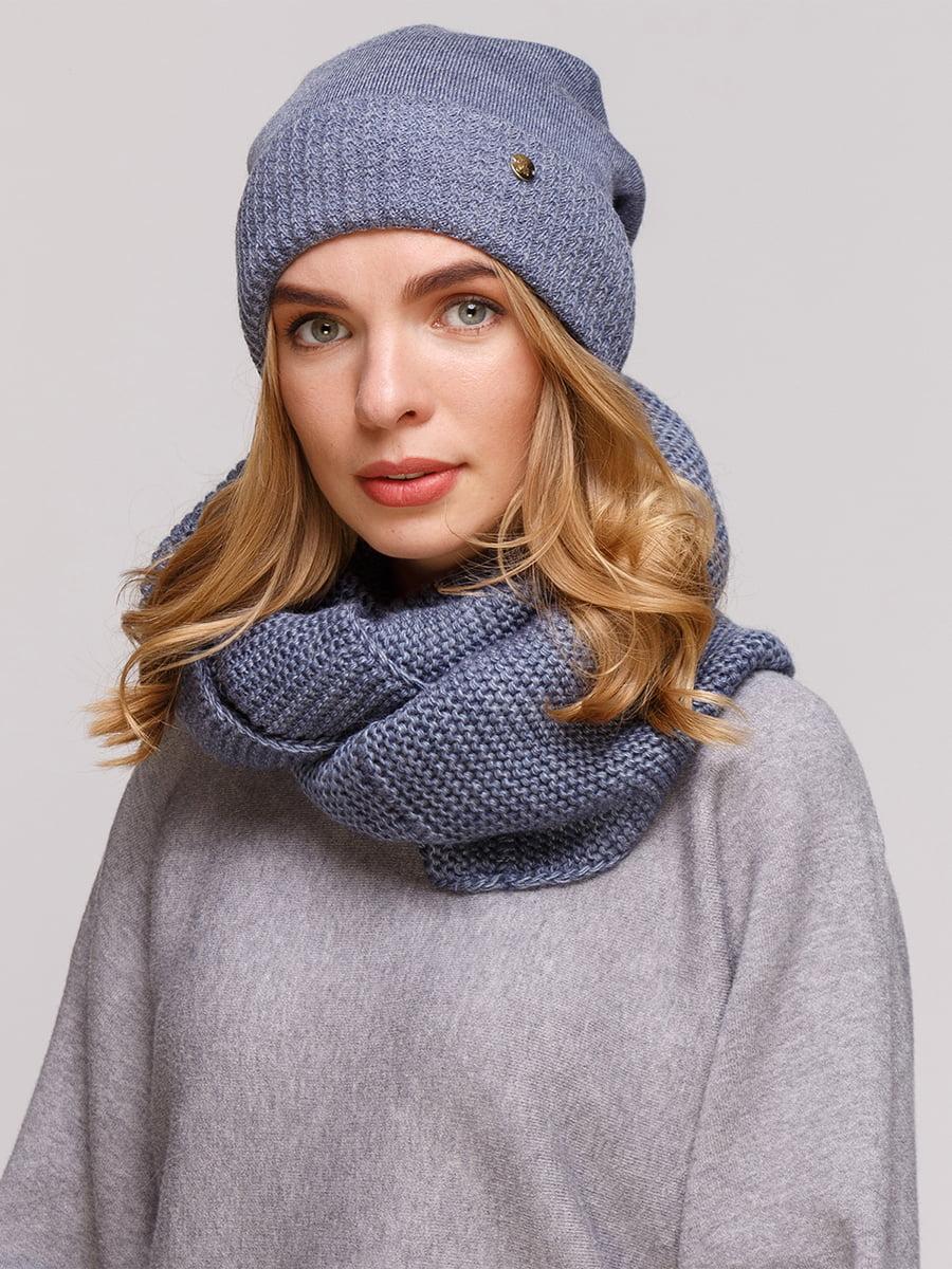Комплект: шапка і шарф-снуд | 5210985