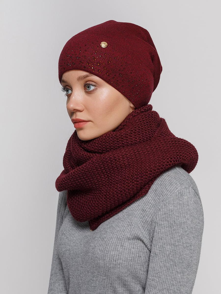 Комплект: шапка і шарф-снуд   5211002