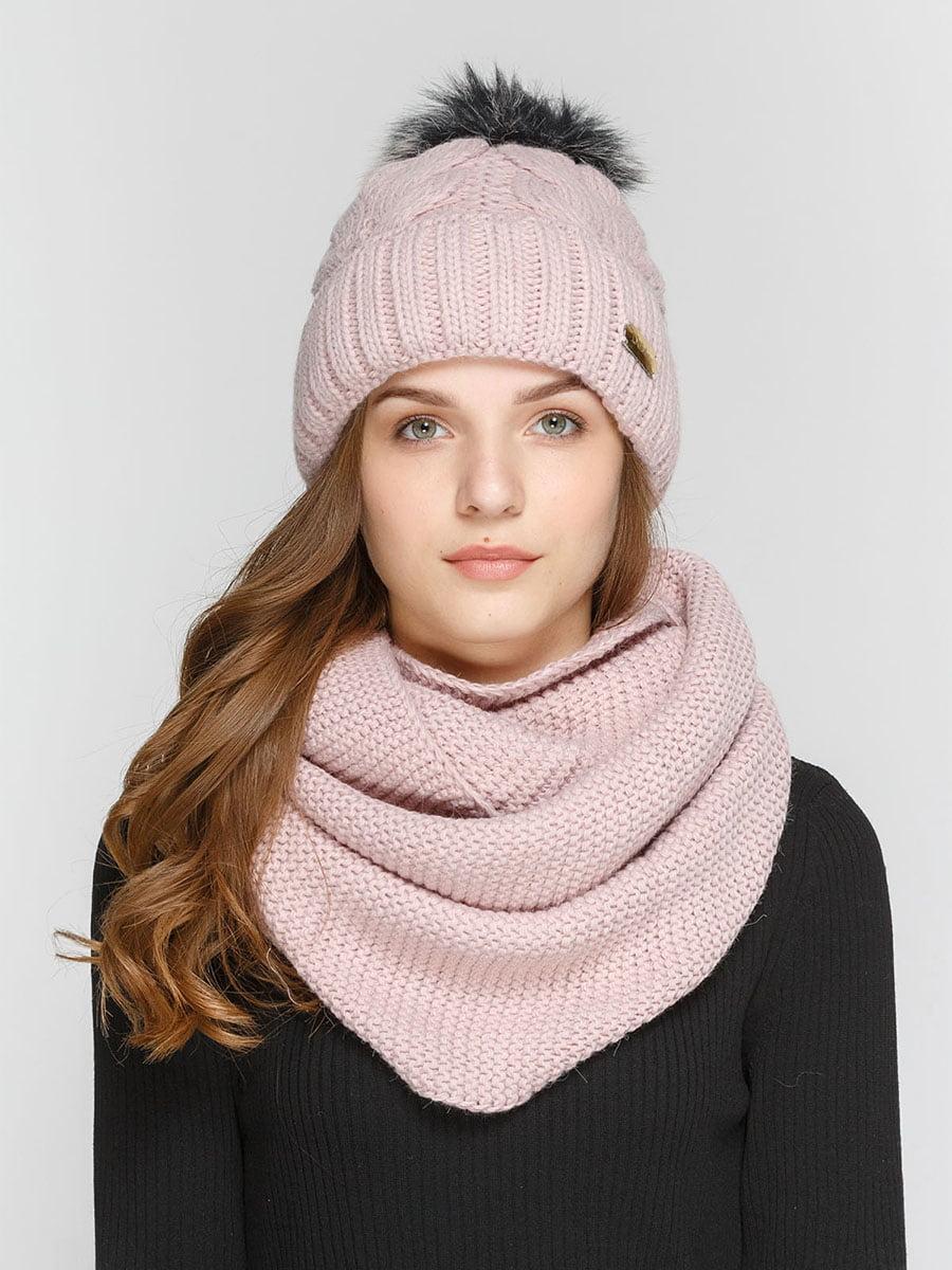 Комплект: шапка і шарф-снуд | 5211011