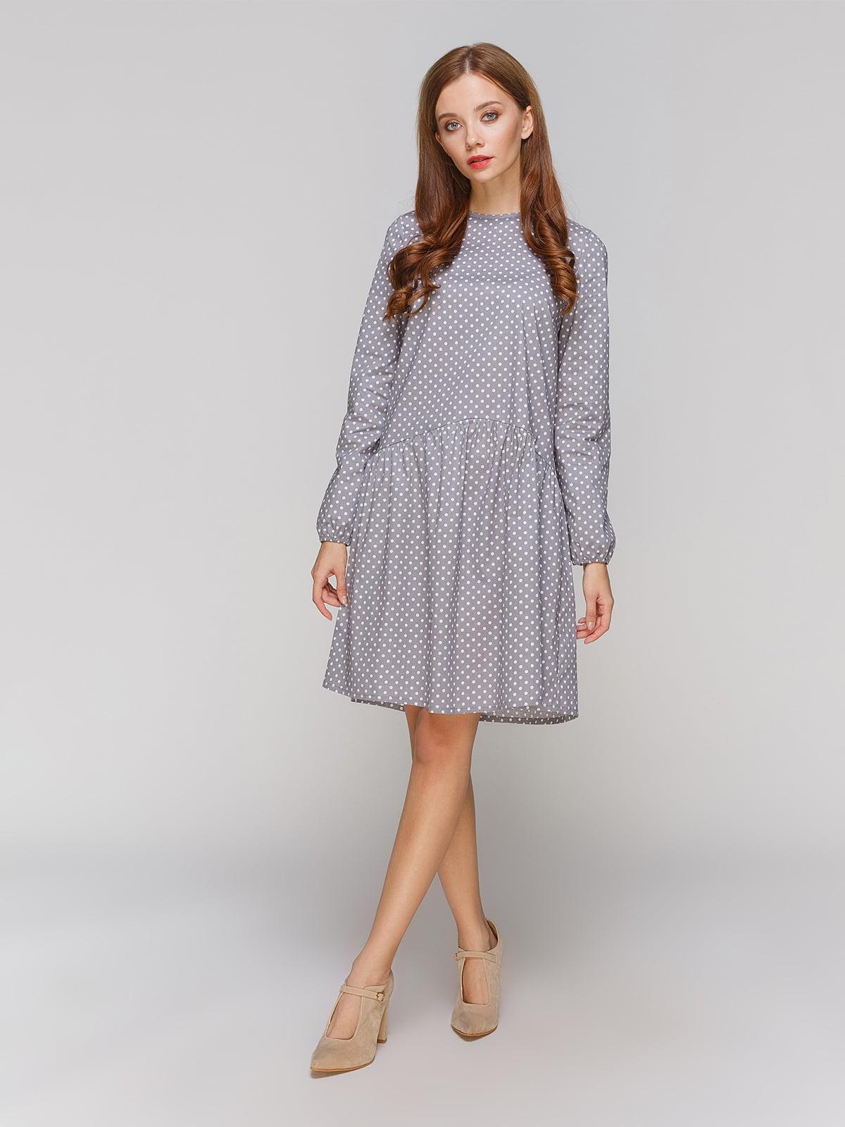 Платье серое   5213136
