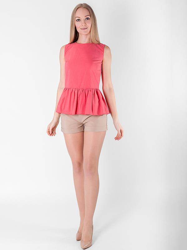 Блуза кораллового цвета | 5214372