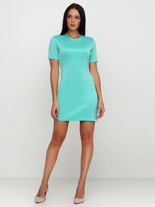 Платье мятного цвета | 5214382