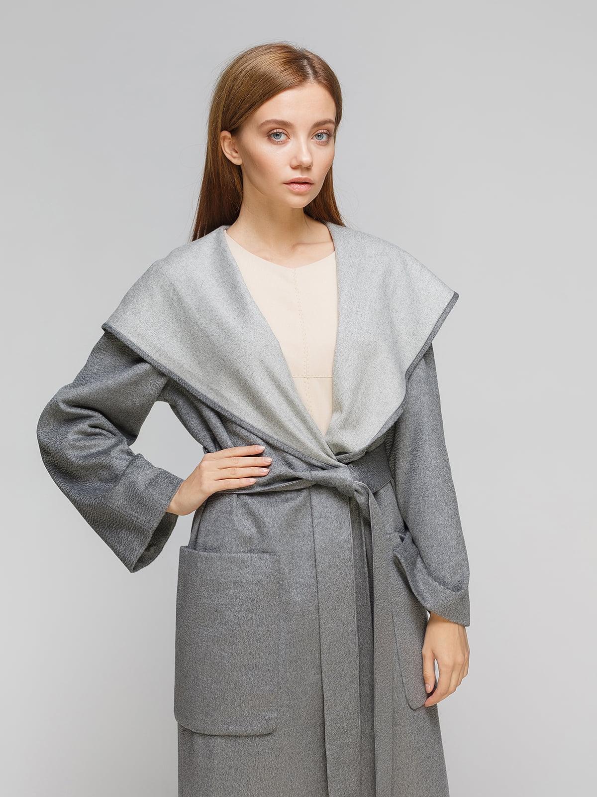 Пальто сіре | 5196419